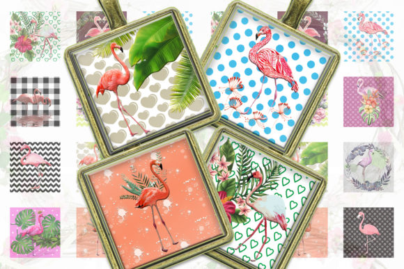 Flamingo Printable Flamingo Digital Graphic Crafts By denysdigitalshop