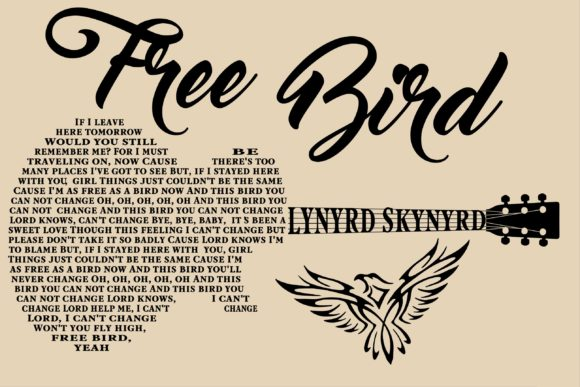 Free Bird Graphic Crafts By Karen Lemaire - Image 1