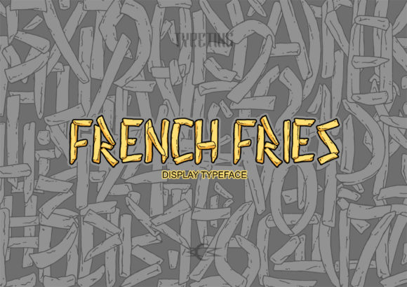 Print on Demand: French Fries Display Font By Typeting Studio