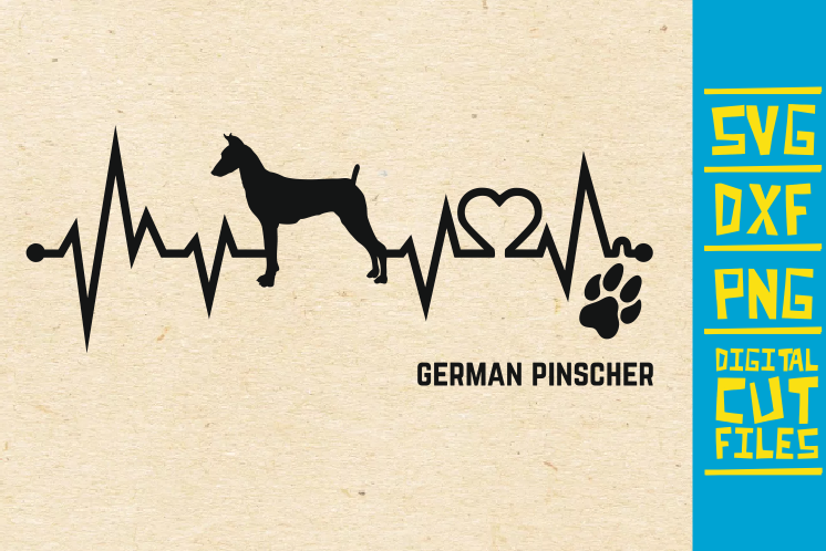 German Pinscher Dog Svg Graphic By Svgyeahyouknowme Creative