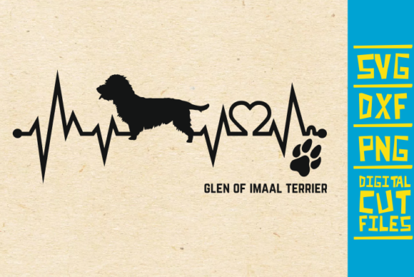 Download Free Glen Of Imaal Terrier Dog Svg Graphic By Svgyeahyouknowme Creative Fabrica for Cricut Explore, Silhouette and other cutting machines.