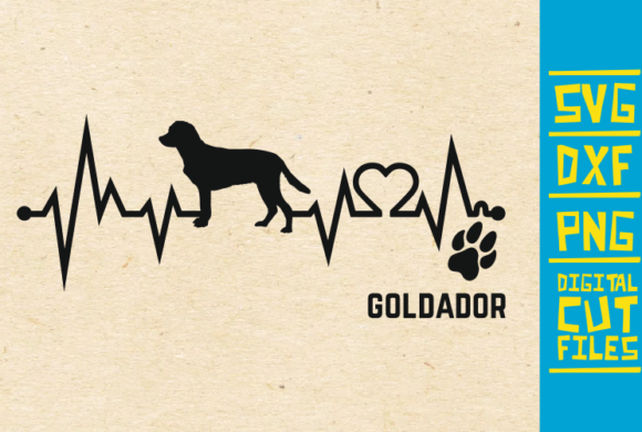 Download Free Goldador Dog Graphic By Svgyeahyouknowme Creative Fabrica for Cricut Explore, Silhouette and other cutting machines.
