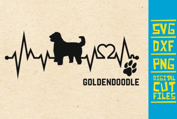 Download Free Goldendoodle Dog Graphic By Svgyeahyouknowme Creative Fabrica for Cricut Explore, Silhouette and other cutting machines.
