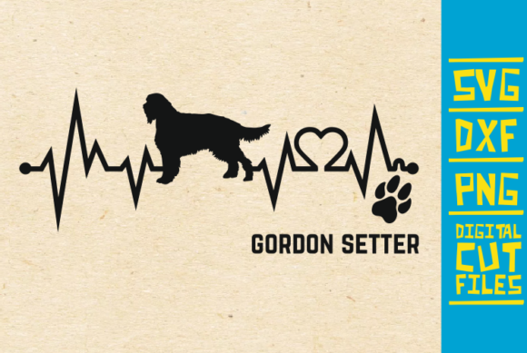 Download Free Gordon Setter Dog Svg Graphic By Svgyeahyouknowme Creative Fabrica for Cricut Explore, Silhouette and other cutting machines.