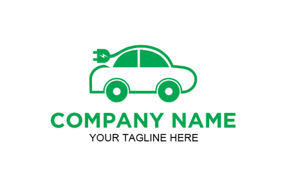 Download Free Green Electric Car Logo Graphic By Redvy Creative Creative Fabrica for Cricut Explore, Silhouette and other cutting machines.