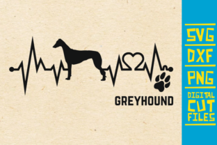 Download Free Greyhound Dog Graphic By Svgyeahyouknowme Creative Fabrica for Cricut Explore, Silhouette and other cutting machines.