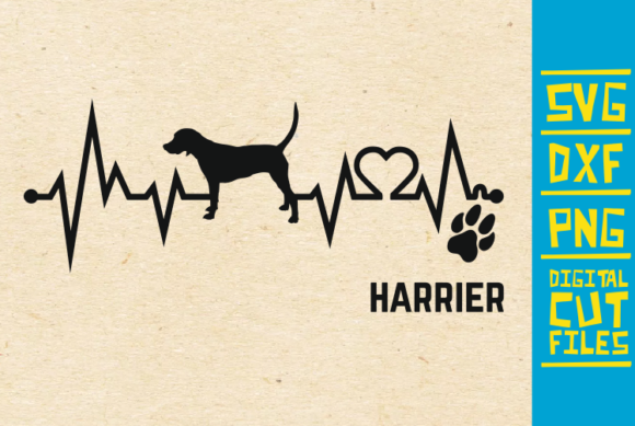 Download Free Harrier Dog Graphic By Svgyeahyouknowme Creative Fabrica for Cricut Explore, Silhouette and other cutting machines.