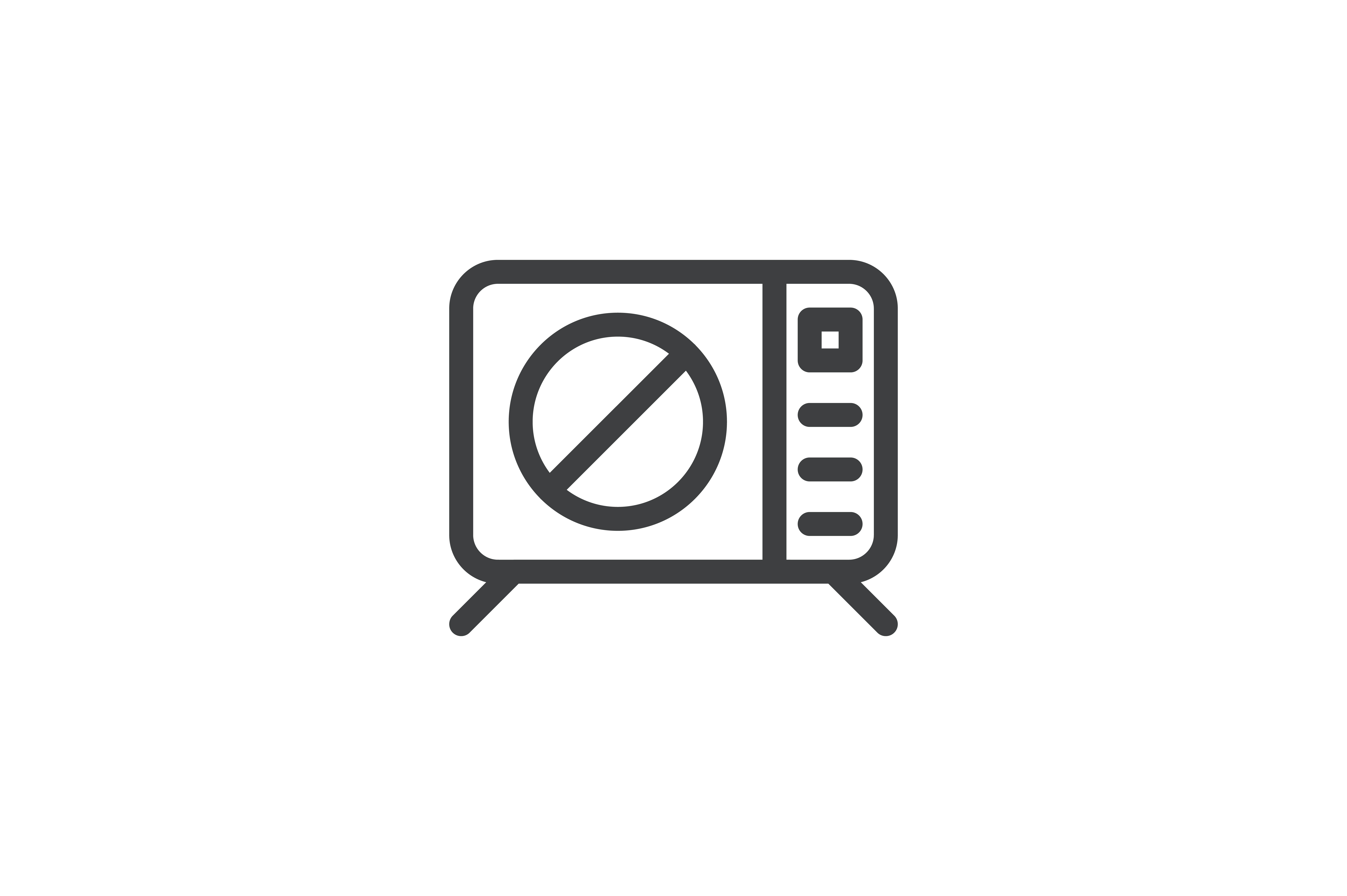 Download Free Hotel Tv Icon Graphic By Mayesari Creative Fabrica for Cricut Explore, Silhouette and other cutting machines.