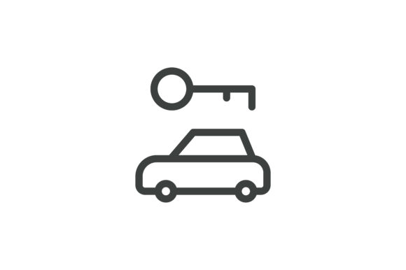 Download Free Hotel Car Key Icon Graphic By Mayesari Creative Fabrica for Cricut Explore, Silhouette and other cutting machines.