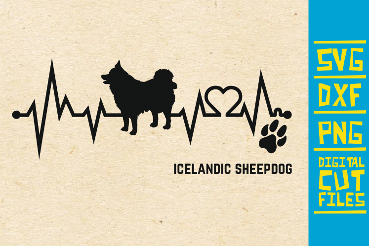 Download Free Icelandic Sheepdog Graphic By Svgyeahyouknowme Creative Fabrica for Cricut Explore, Silhouette and other cutting machines.