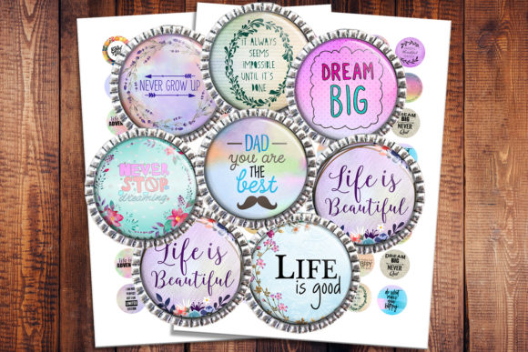 Inspirational Quotes Graphic Crafts By denysdigitalshop