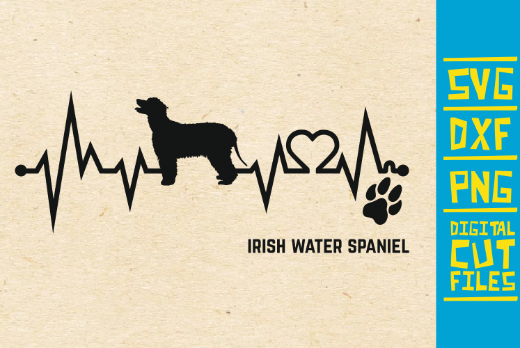 Download Free Irish Water Spaniel Dog Svg Graphic By Svgyeahyouknowme Creative Fabrica for Cricut Explore, Silhouette and other cutting machines.