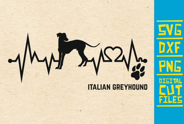 Download Free Italian Greyhound Dog Svg Graphic By Svgyeahyouknowme Creative Fabrica for Cricut Explore, Silhouette and other cutting machines.