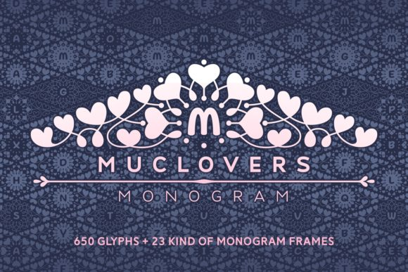 Print on Demand: Muclovers Display Font By Situjuh - Image 1