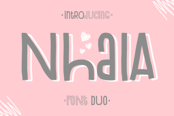 Print on Demand: Nhala Display Font By Dani (7NTypes)