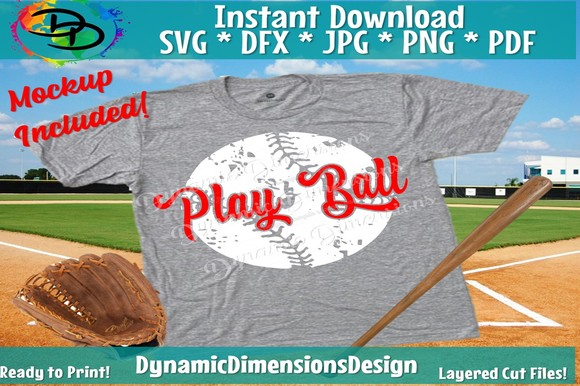 Download Free Play Ball Graphic By Dynamicdimensions Creative Fabrica for Cricut Explore, Silhouette and other cutting machines.