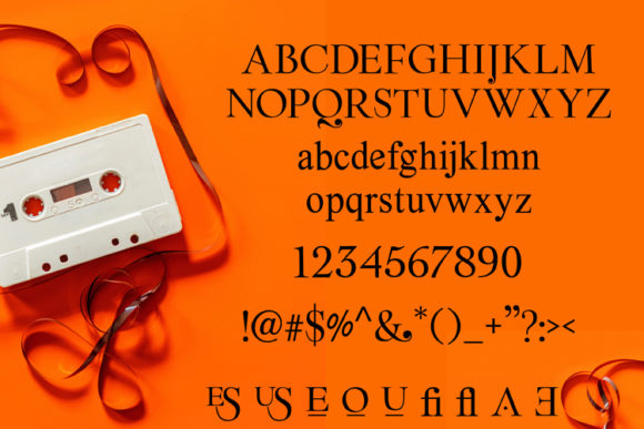 Reulee Font Preview