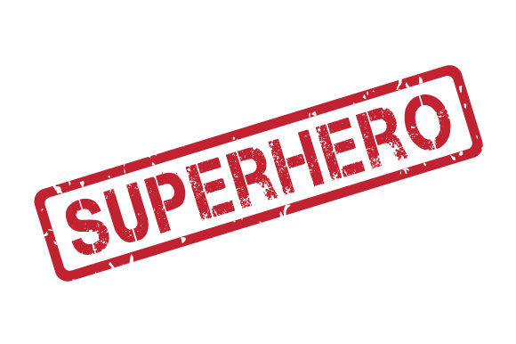 Download Free Superhero Transparent Rubber Stamp Svg Graphic By Graphicsfarm Creative Fabrica for Cricut Explore, Silhouette and other cutting machines.