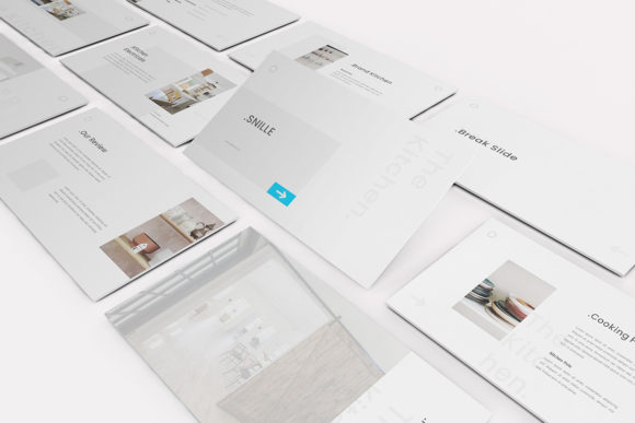 Download Free The Kitchen Powerpoint Template Graphic By Formatikastd for Cricut Explore, Silhouette and other cutting machines.