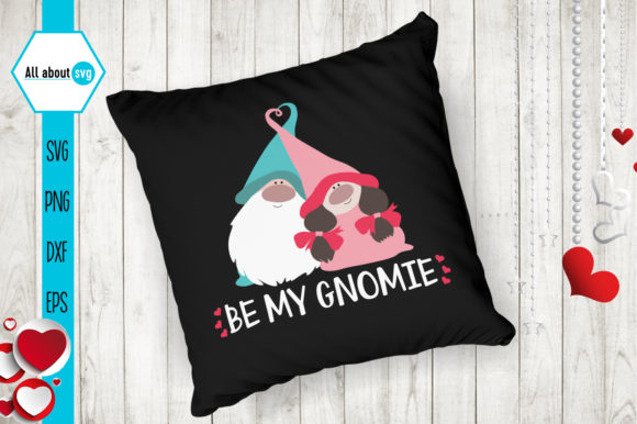 Valentine's Gnome Bundle Graphic Crafts By All About Svg - Image 6