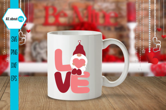 Valentine's Gnome Bundle Graphic Crafts By All About Svg - Image 7