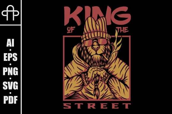 Download Free King Street Lion Graphic By Andypp Creative Fabrica for Cricut Explore, Silhouette and other cutting machines.