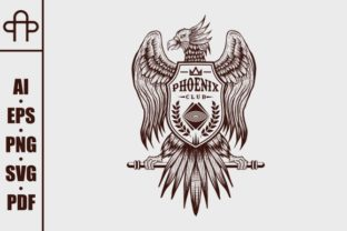 Print on Demand: Phoenix Hand Draw Graphic Illustrations By Andypp