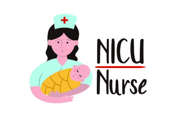 NICU Nurse Work Craft Cut File By Creative Fabrica Crafts