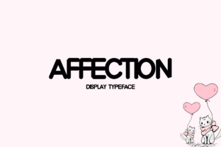 Print on Demand: Affection Display Font By Instagram Fonts 1