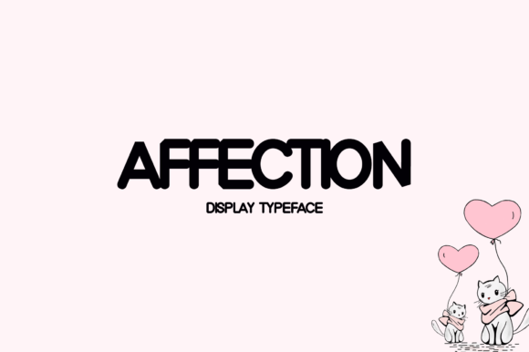 Print on Demand: Affection Display Font By Instagram Fonts