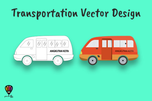 Download Free Angkot Vector Illustration Graphic By Printablesplazza for Cricut Explore, Silhouette and other cutting machines.