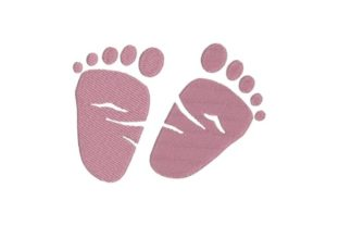 Baby Feet Nursery Embroidery Design By Embroidery Designs