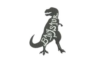 Babysaur Dinosaurs Embroidery Design By Embroidery Designs