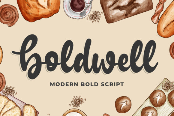 Print on Demand: Boldwell Script & Handwritten Font By Blankids Studio