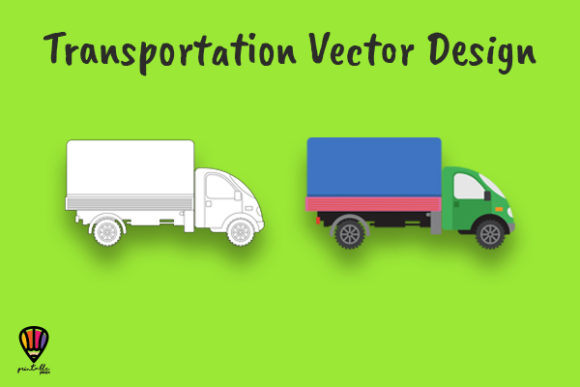 Download Free Transportation Graphic Illustration Set Graphic By SVG Cut Files