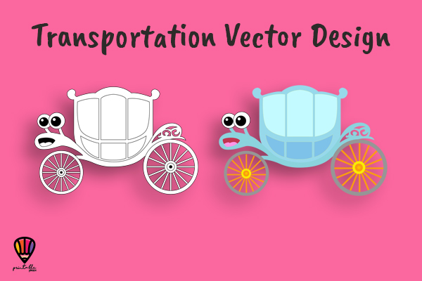 Download Free Carriage Vector Illustration Graphic By Printablesplazza for Cricut Explore, Silhouette and other cutting machines.