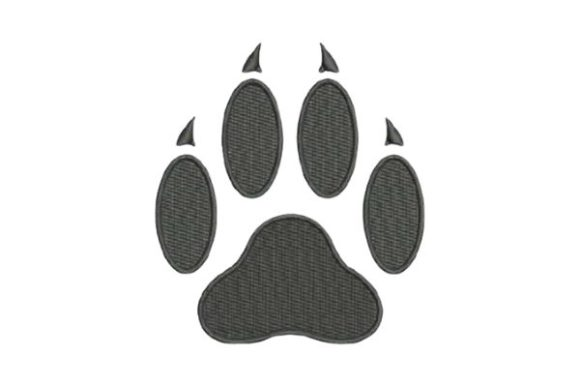 Cat Paw Print Cats Embroidery Design By Embroidery Designs