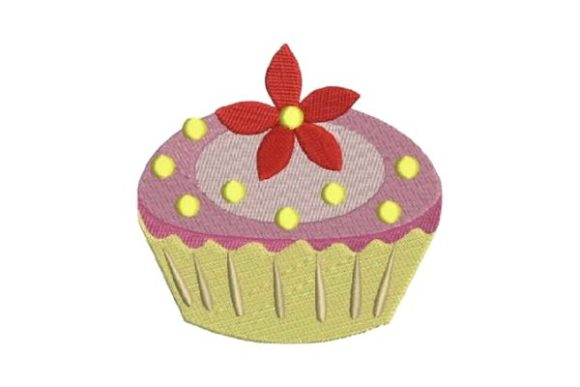 Cupcake Dessert & Sweets Embroidery Design By Embroidery Designs - Image 1