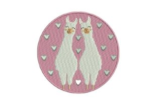 Cute Llamas Baby Animals Embroidery Design By Embroidery Designs