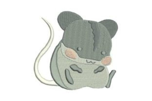 Cute Mouse Babies & Kids Embroidery Design By Embroidery Designs
