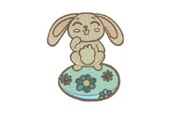 Easter Bunny Easter Embroidery Design By Embroidery Designs - Image 1