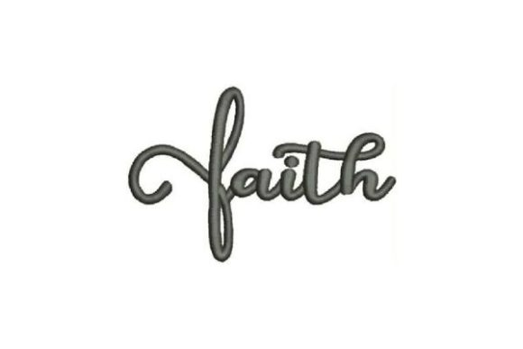 Faith Cross Religion & Faith Embroidery Design By Embroidery Designs