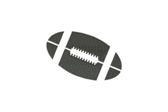 Football Sports Embroidery Design By Embroidery Designs - Image 1