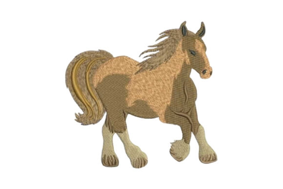 Galloping Horse Farm & Country Embroidery Design By Embroidery Designs - Image 1