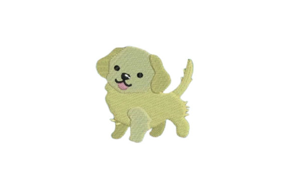 Golden Retriever Dogs Embroidery Design By Embroidery Designs - Image 1