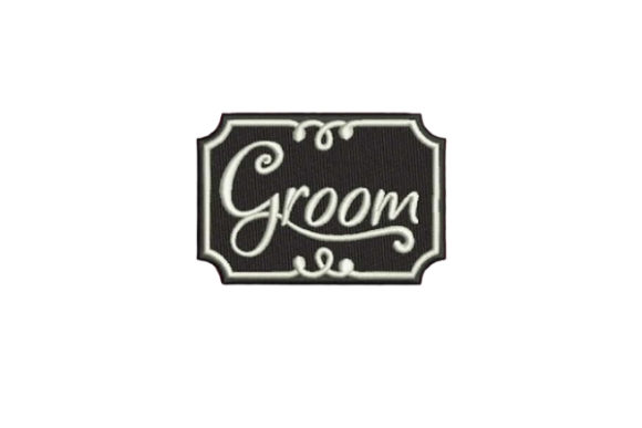 Groom Esposo Diseños de bordado Por Embroidery Designs