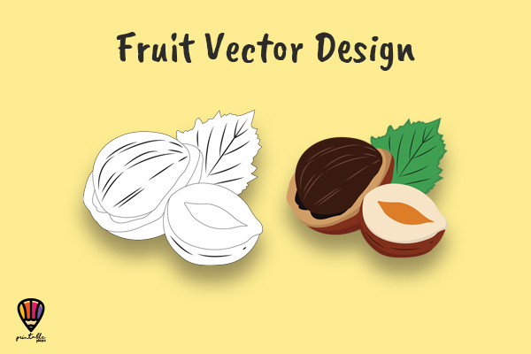 Download Free Hazelnut Fruit Vector Illustration Graphic By Printablesplazza for Cricut Explore, Silhouette and other cutting machines.