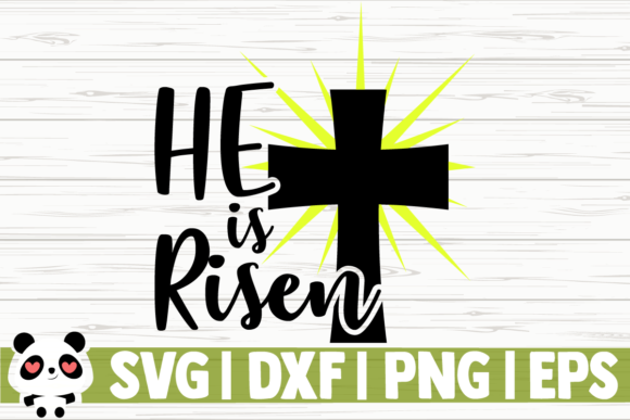 Download Free He Is Risen Graphic By Creativedesignsllc Creative Fabrica for Cricut Explore, Silhouette and other cutting machines.