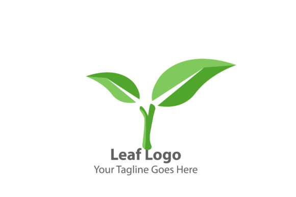 LEAF LOGO Graphic Scene Generators By Thingraphic