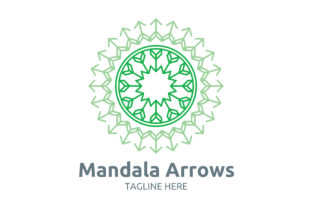 Mandala Arrow Graphic Patterns By Cowboy Studios